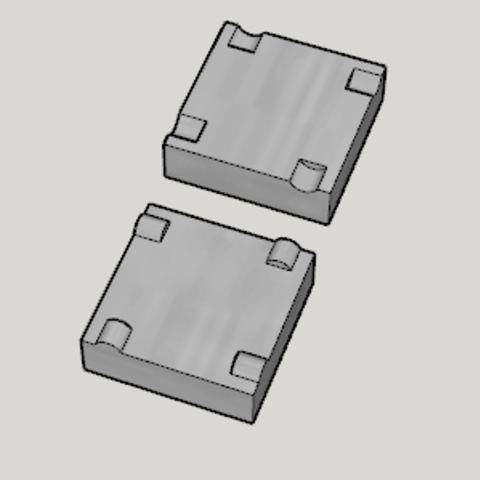 Free 3d printer files Mold Blank, Imura_Works_FR