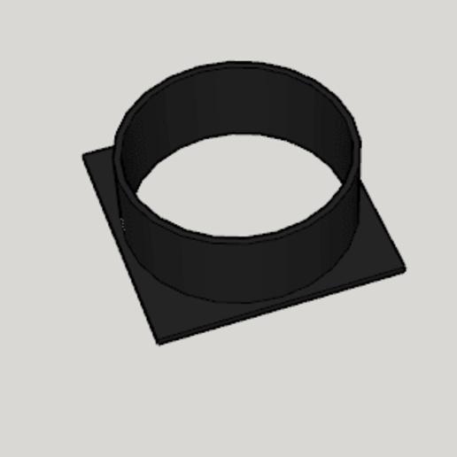 Download free 3D printer templates DaVinci Jr Ventilation Opening, Imura_Industry