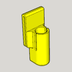 Download free STL file 25㎜ Pepper Spray Holder • 3D printing object, Imura_Industries