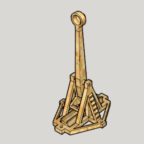 archivos 3d Catapulta de impresión 3D A gratis, Imura_Works_FR