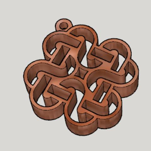 Free 3d model Mabinogi Celtic Emblem Key Chain, Imura_Works_FR
