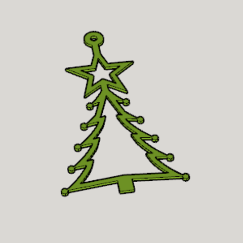 Free 3D printer files Christmas Decorations 2017 A, Imura_Industry_FR
