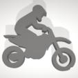 3D print model Motocross Phone Stand, Uppergrade