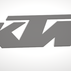 stl file KTM Logo, Uppergrade
