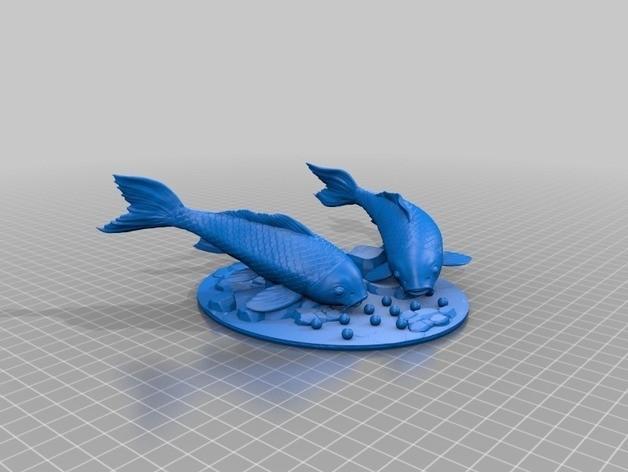 carps feeding preview.jpg Télécharger fichier STL gratuit Alimentation des carpes • Objet à imprimer en 3D, kobusrraaths5