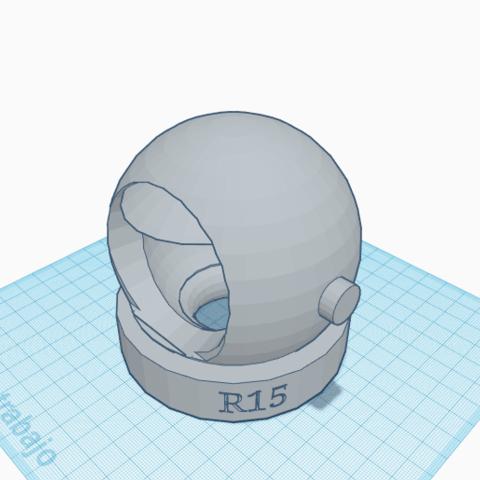 rdjh.png Download free STL file Astronaut Helmet • 3D print model, Raulbaeza15
