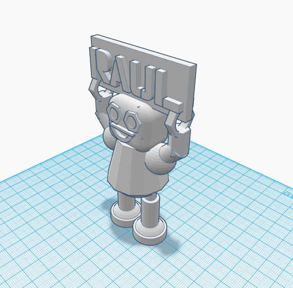 robot 1.png Download free STL file Robot Raul • Template to 3D print, Raulbaeza15