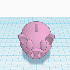 cerdo 1.png Download free STL file Pig Piggy Bank • Model to 3D print, Raulbaeza15