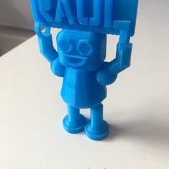 Free Robot Raul 3D model, Raulbaeza15