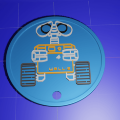 Télécharger fichier 3D gratuit Wall-E, kfels88
