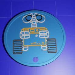 Download free 3D printing templates Wall-E, kfels88