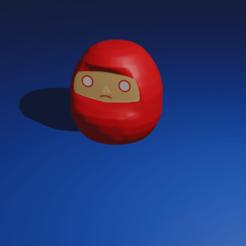 Daruma.png Download free STL file Daruma • 3D printing model, kfels88
