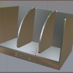 2.PNG Download free STL file Card Holder • 3D printer object, kfels88