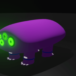 fub.png Download free STL file BaF-Monster-3 • 3D printable object, kfels88