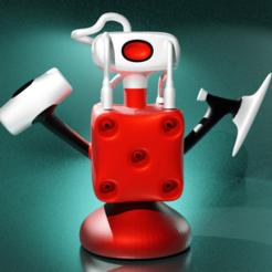 Download free STL file K-Monster-2 • Object to 3D print, kfels88
