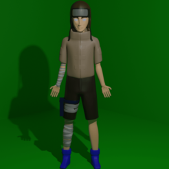 Download STL file Neji Hyuuga • Design to 3D print, kfels88