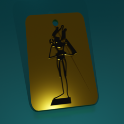 Download 3D model Osiris (KeyChain), kfels88