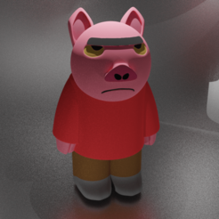 Spanky Ham.png Download free STL file Spanky Ham • 3D print model, kfels88