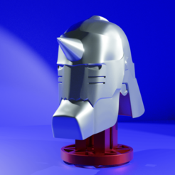 Alphonse_Helmet.png Download STL file Alphonse Elric helmet • Model to 3D print, kfels88