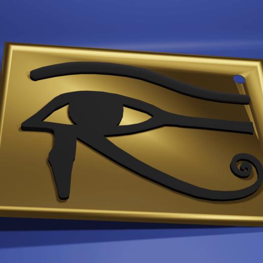 Télécharger plan imprimante 3D gatuit L'œil d'Horus, kfels88
