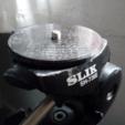 Free 3D printer model Slik 6123 tripod shoe / mount, dasaki
