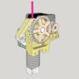 Free 3D printer files Dasaki Compact 1:3 Geared Extruder for Prusa i3 (MK7 drive gear), dasaki