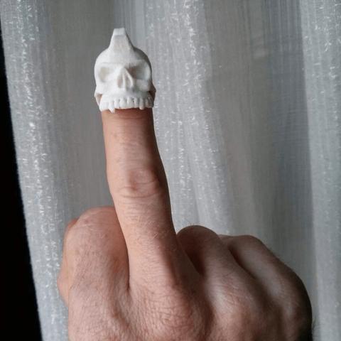 Capture d'écran 2018-04-05 à 15.28.49.png Télécharger fichier STL gratuit Bague de crâne punk Dasaki • Design pour imprimante 3D, dasaki