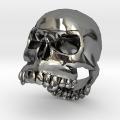 Download free 3D printer model Dasaki skull ring, dasaki