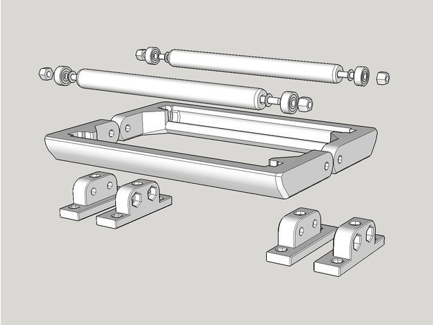 ee0929d24980efbf856ef433c81b045c_preview_featured.jpg Télécharger fichier STL gratuit Porte-bobine • Design imprimable en 3D, dasaki