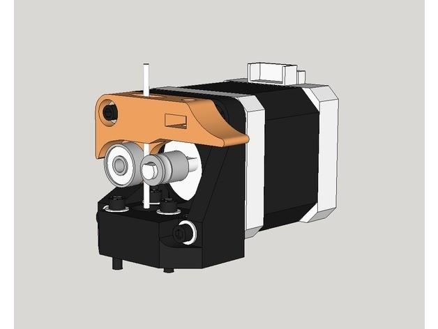 dda0989b3491ed7e3e73eea651b096be_preview_featured.jpg Télécharger fichier STL gratuit BCN3D + extrudeuse à entraînement direct • Modèle à imprimer en 3D, dasaki