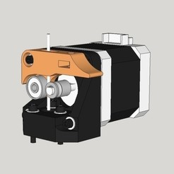 Download free STL file BCN3D+ direct drive extruder, dasaki