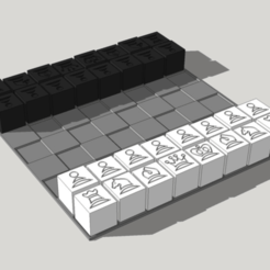 Capture d'écran 2018-04-05 à 16.46.48.png Download free STL file Chess 20mm hollow calibration cubes • 3D printing object, dasaki