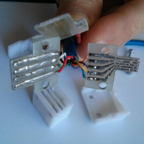 IMG_20150508_171422_preview_featured.jpg Download free STL file Dasaki Kinect2 (One) USB 3.0 / DC breakout connector adapter • Template to 3D print, dasaki