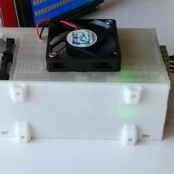 Free 3D printer file Dasaki Ramps 1.4 Enclosure / Box / Case, dasaki