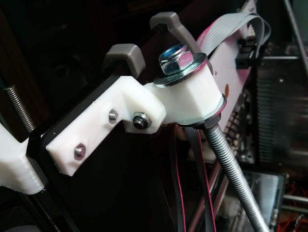 IMG_20150414_173335_preview_featured.jpg Download free STL file Z axis stabilizer for prusa i3 aluminium single plate • 3D print object, dasaki