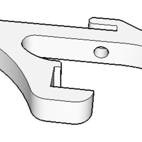 sketchup_screenchot_2_preview_featured.jpg Télécharger fichier STL gratuit Smart LCD support pour Prusa i3 6mm cadre en aluminium • Design à imprimer en 3D, dasaki