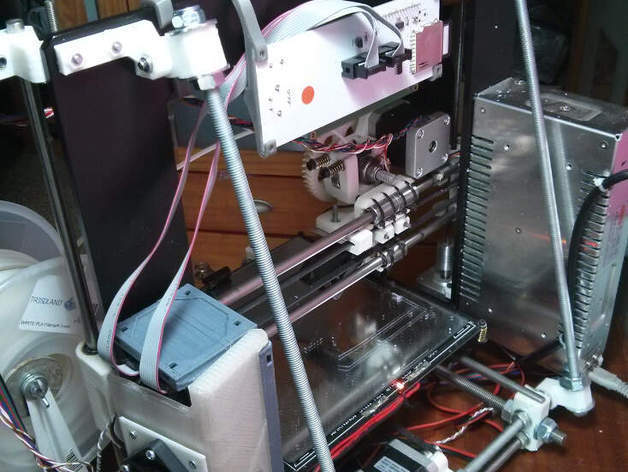 IMG_20150414_173236_preview_featured.jpg Download free STL file Z axis stabilizer for prusa i3 aluminium single plate • 3D print object, dasaki