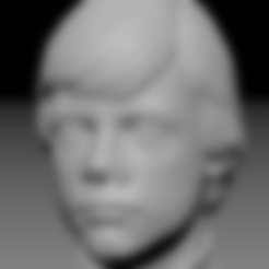 Free 3D printer model Luke Skywalker bust (old version), Toshi_TNE