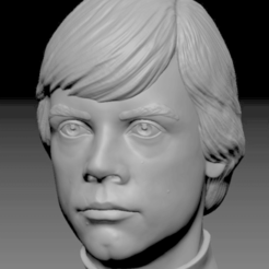 Download free 3D printing files Luke Skywalker bust (old version), Toshi_TNE