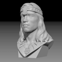 Free 3D printer model Conan The Barbarian, Toshi_TNE