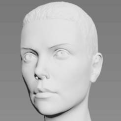 Free 3D printer designs Furiosa Bust, Toshi_TNE