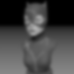 Free 3D printer model Catwoman, Toshi_TNE