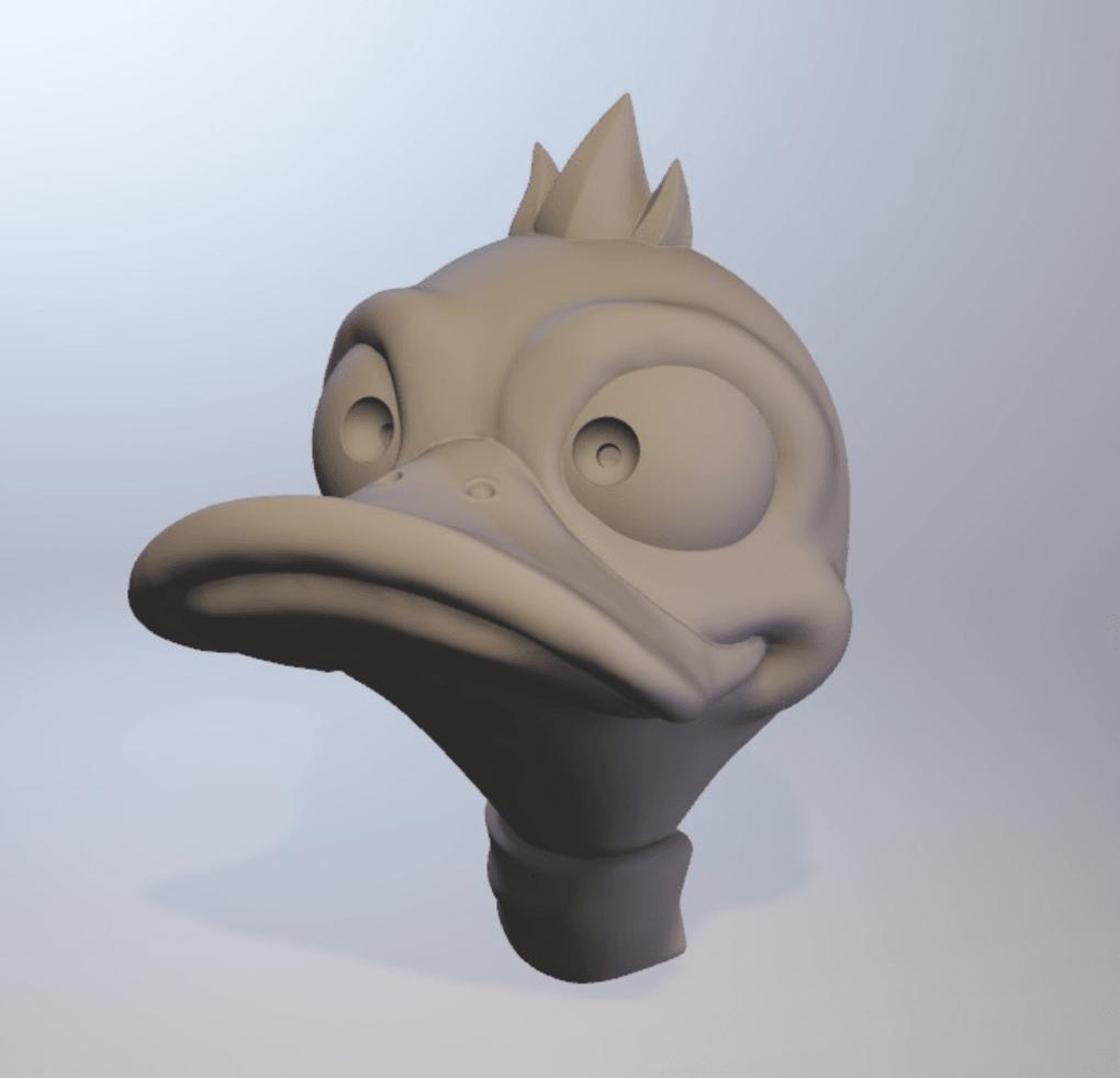 Capture d'écran 2018-04-05 à 11.49.55.png Download free OBJ file Duck Headphone Hanger • 3D print model, Toshi_TNE