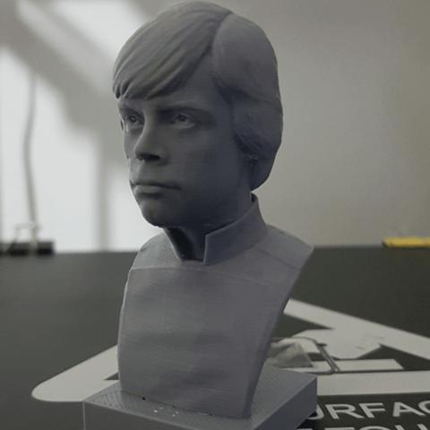 STL gratuit Luke Skywalker v2, Toshi_TNE