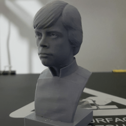 Free Luke Skywalker v2 3D model, Toshi_TNE