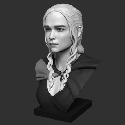 Impresiones 3D gratis Daenerys, Toshi_TNE