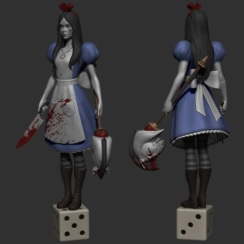 Free 3D print files Alice, Toshi_TNE