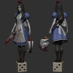 Download free 3D printer model Alice, Toshi_TNE