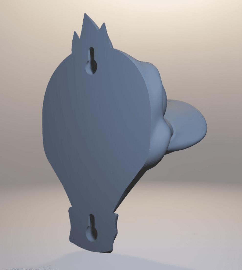 Capture d'écran 2018-04-05 à 11.49.59.png Download free OBJ file Duck Headphone Hanger • 3D print model, Toshi_TNE