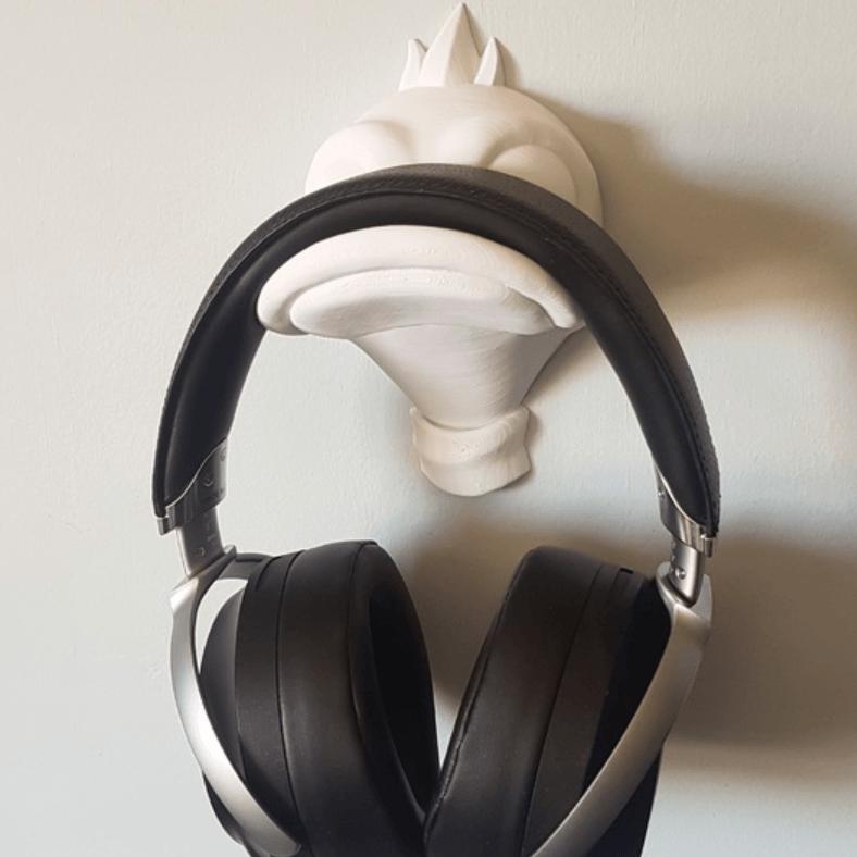 Capture d'écran 2018-04-05 à 11.49.43.png Download free OBJ file Duck Headphone Hanger • 3D print model, Toshi_TNE